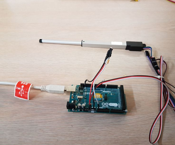 Learn how to control a micro linear actuator via arduino and a photoresistor.
