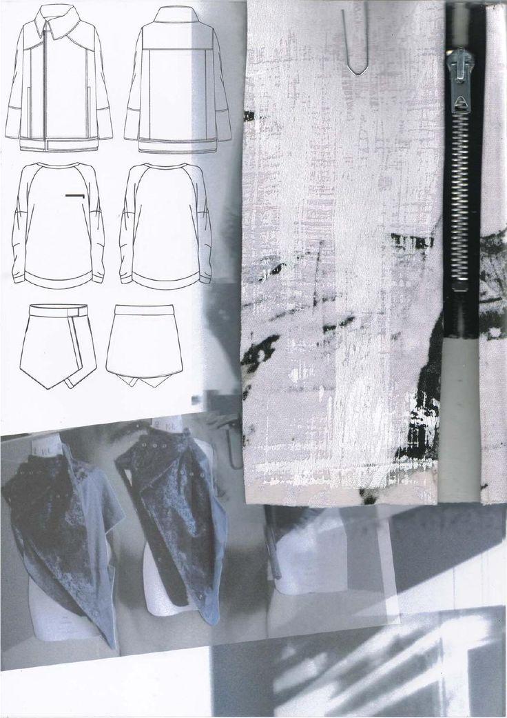 Fashion Sketchbook - fashion design drawings & research; graduate fashion portfolio // Amy Dee