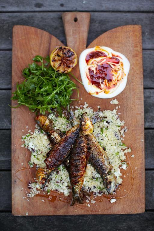 harissa sardines with couscous salad | Jamie Oliver | Food | Jamie Oliver (UK)