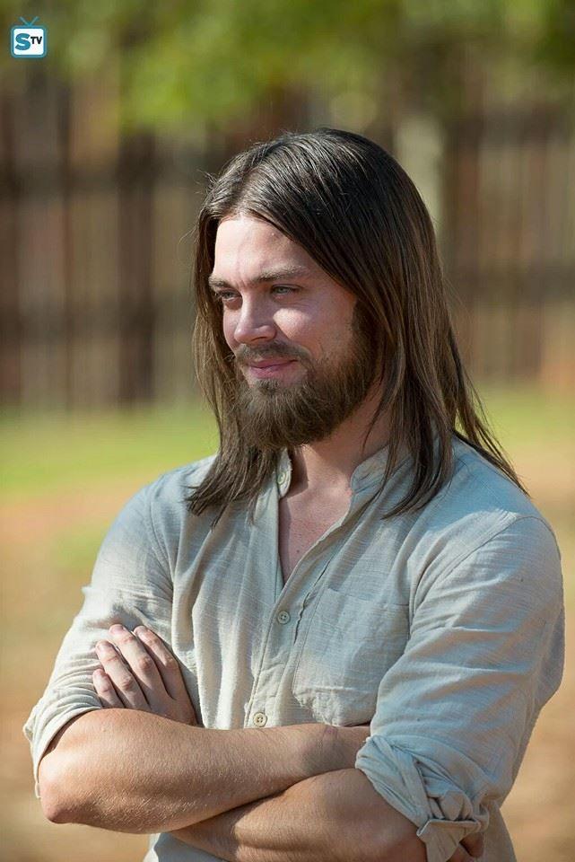 The Walking Dead Season 6 Episode 11 'Knots Untie' Jesus