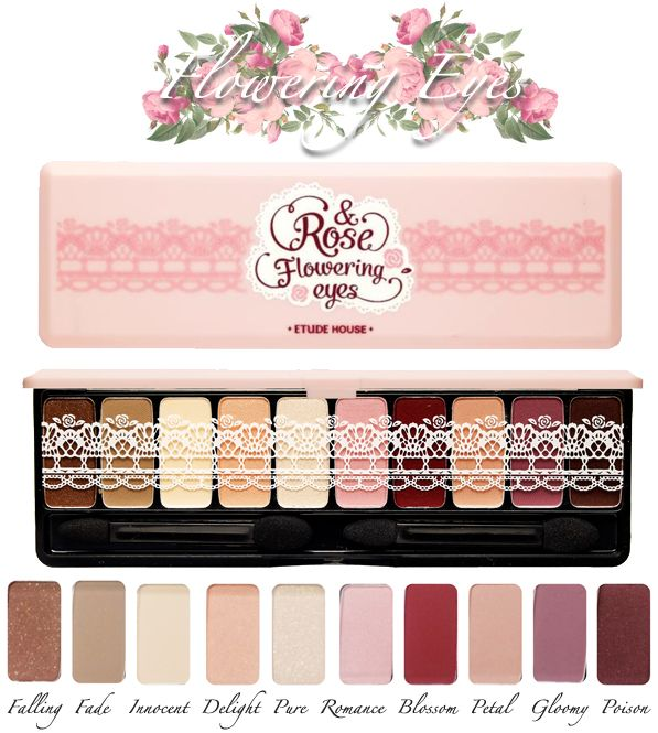 Korean Beauty Products from Etude House! | YINGJIE Etude house Fall 2013 Rose Collection