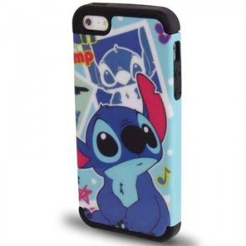 iPhone 5/5S Cases : Cute Stitch Pattern 2in1 Case for iPhone 5