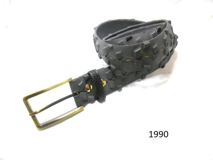 Taillengürtel - Damen / Herrengürtel aus recyceltem Fahrradreifen. - ein Designerstück von re-belt bei DaWanda