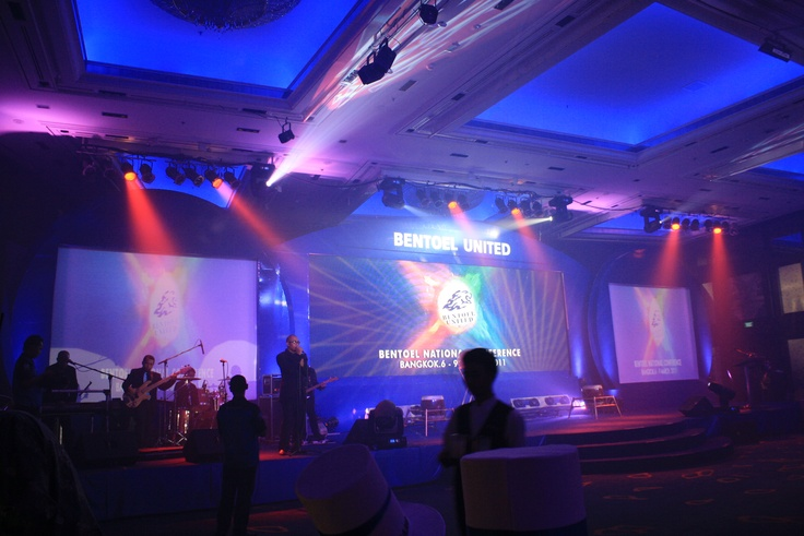 Conceptual events asia thailand provides event support for Annual dinner decoration