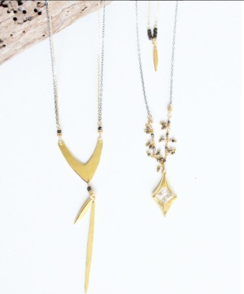 Summer is coming... and all you need to stay cool is shorts, tanks and layers of fun necklaces!