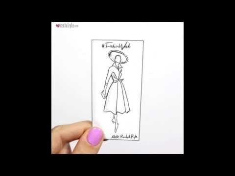 Throwback to Fashion! - Stop Motion Animation by Rachel Ryle - YouTube