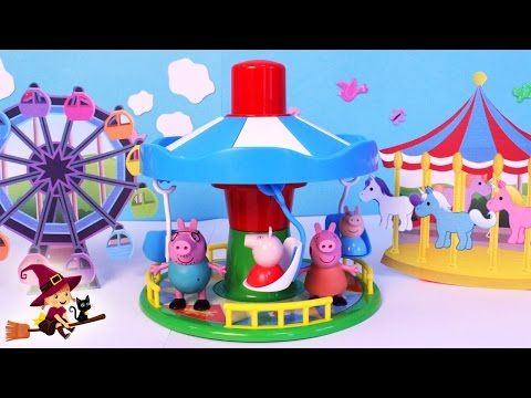 Peppa Pig and George (Cake Toppers) / Cómo hacer a Peppa pig y a George para tortas - YouTube