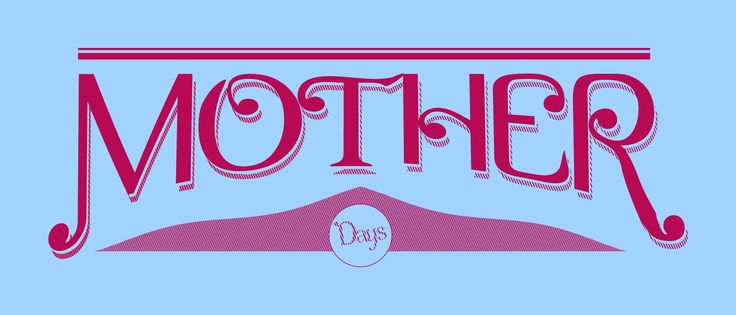 lettering font #MotherDay