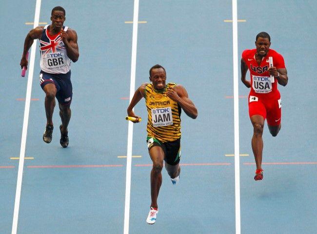 Usain Bolt - 4 x relay final