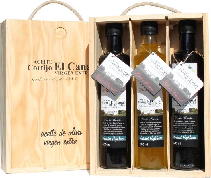 Estuche de Regalo Edición Gourmet de Aceite Cortijo El Canal