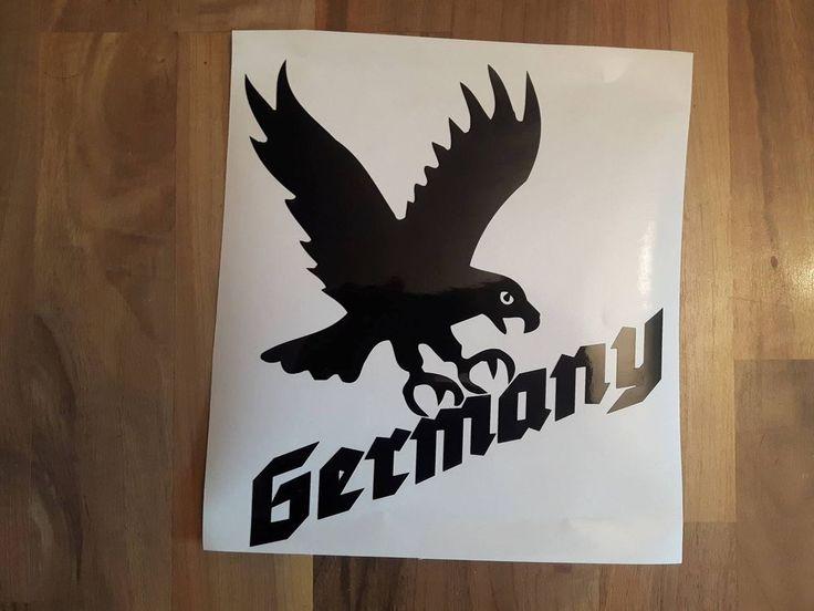 Germany Deutschland Adler Vogel Deutsches Reich Heimat Aufkleber