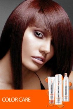 PAUL MITCHELL HAIR COLOR.  Rose brown.