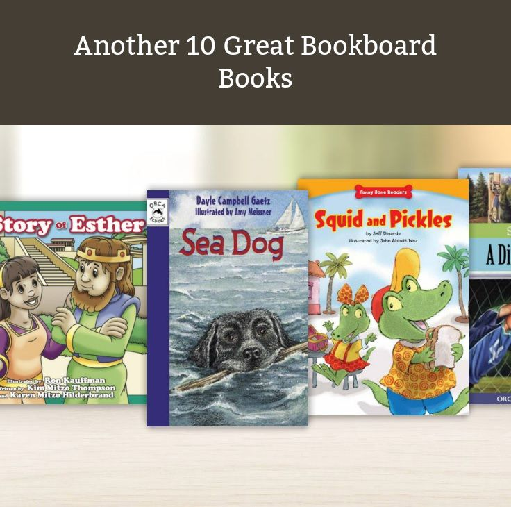 Another 10 Great Bookboard Books