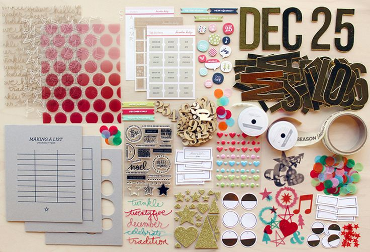 December Daily® 2014 | Kit Updates at Ali Edwards
