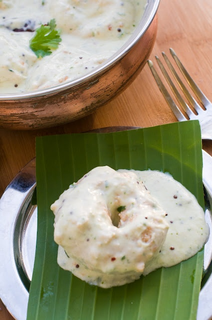 Dahi wadas, another awesome indian food blog
