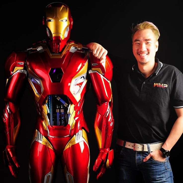 Case Modder Builds Life-Size Set of Iron Man Mk. 45 Armor That Contains a Working Custom PC via @laughingsquid