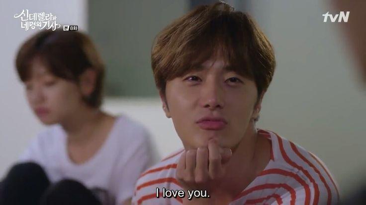 #CinderellaAndFourKnights Jung Il Woo says I love you 💕💕💕
