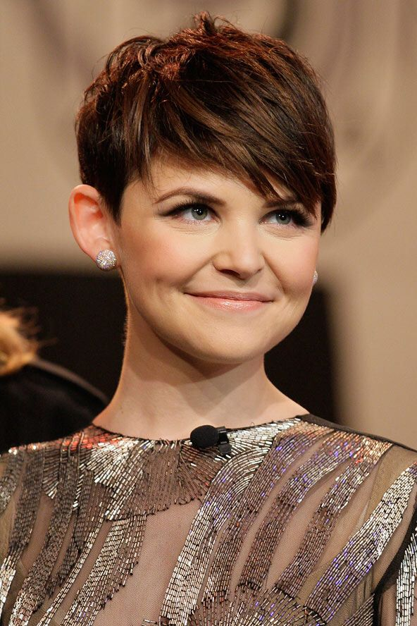 Ginnifer Goodwin pixie cut.