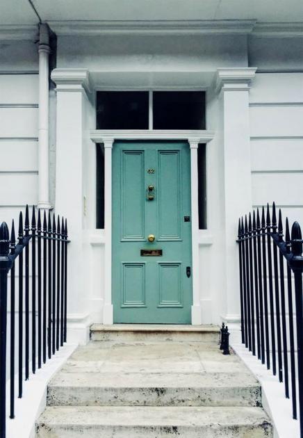 Traditionell & modern: Frisch und fröhlich: Türkisfarbene Haustür in London - Bild 19 - [SCHÖNER WOHNEN]