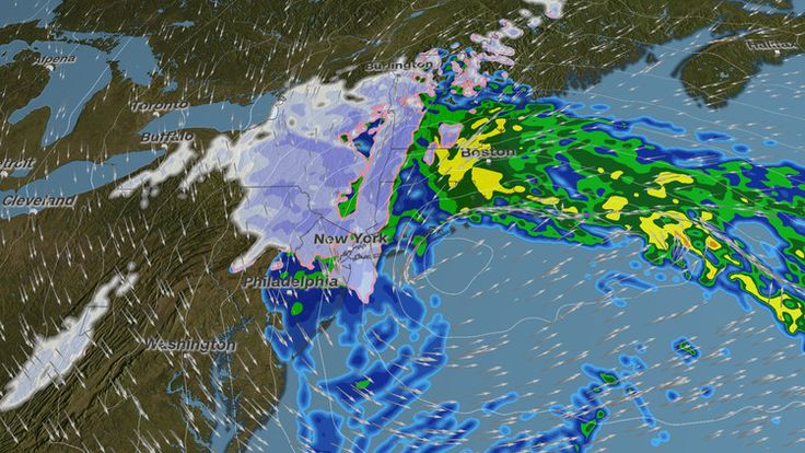 Another 'bomb cyclone' -- with a huge flood risk -- is aiming for the Northeast