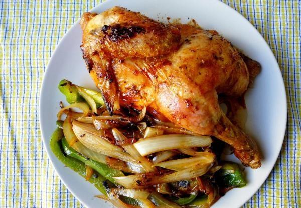 Pollo Al Horno Con Limón Y Especias Fácil Receta Recetas De Pollo Al Horno Recetas De Pollo Asado Pollo