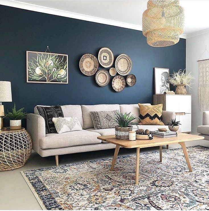 31 Modern Accent Wall Ideas For Any Room In Your House 2019 Pallet Ideas Blue Accent Walls Shabby Chic Decor Living Room Chic Living Room