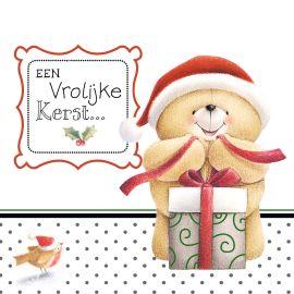 Een lief Forever Friends kerstkaartje voor een vrolijke Kerst! #Hallmark #HallmarkNL #kerst #kerstinspiratie #foreverfrieds
