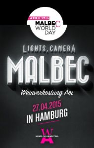 #MalbecWorldDay in Hamburg on April 27th! Read more by clicking the image.