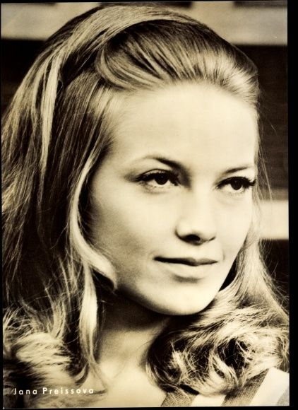 Jana Preissová - Czech actress