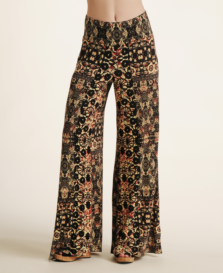 Free People Printed Wide Leg Pants--Love these!!!