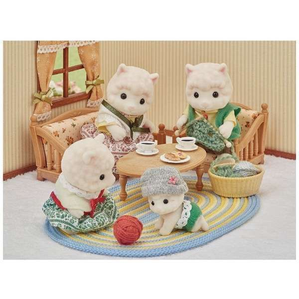 Epoch Sylvanian Families doll set Koala family FS-15 from Japan F//S