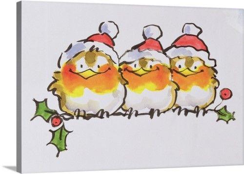 Pin By Diana Watson On Christmas: Diane Matthes Premium Thick-Wrap Canvas Wall Art Print