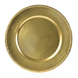 Gloria Charger Plate