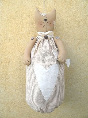 gattoneportasacchetti by countrykitty crafts, via Flickr