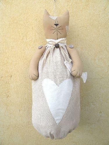 gattone portasacchetti - my pattern by countrykitty, via Flickr