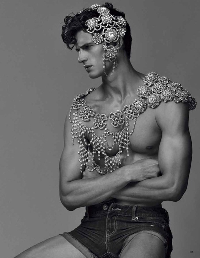 "VOGUE HOMMES JAPAN: GARRETT NEFF IN ""DRIVEN BY FATE"" BY PHOTOGRAPHER SEBASTIAN FAENA"