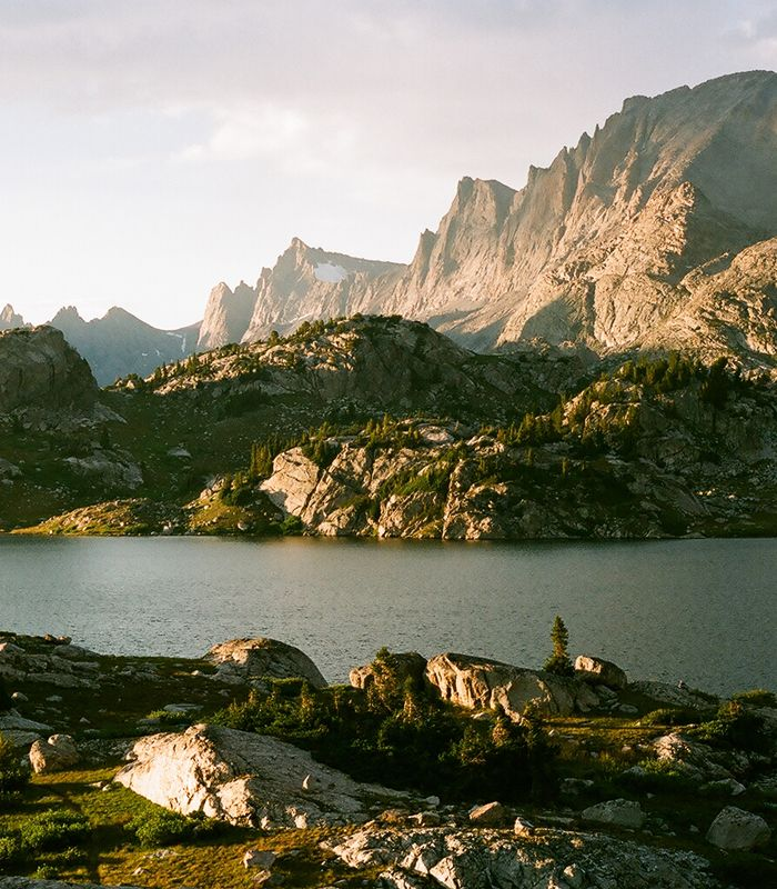 The Wind River Range in Wyoming is