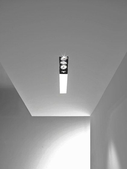 Deep by B.LUX, recessed ceiling lighting system _