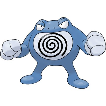 #Poliwrath from the official artwork set for #Pokemon FireRed and LeafGreen for #GBA. http://www.pokemondungeon.com/pokemon-firered-and-leafgreen-versions
