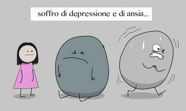 Questo fumetto spiega perché ansia e depressione siano così difficili da combattere: