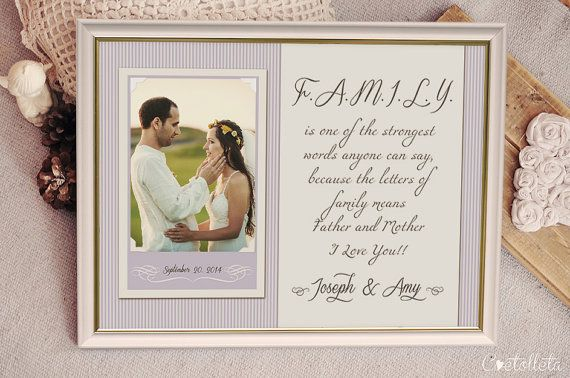 Parents Wedding Gift Ideas: Best 25+ Parent Wedding Gifts Ideas On Pinterest