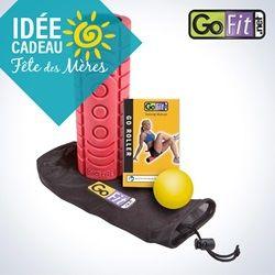 Idée cadeau Fête des Mères - le rouleau Go-Roller vous permettra d'accroître votre flexibilité et d'accélérer votre récupération.   Gift Idea Mother's day - The GoFit Go Roller will help increase your flexibility and speed up your recovery.