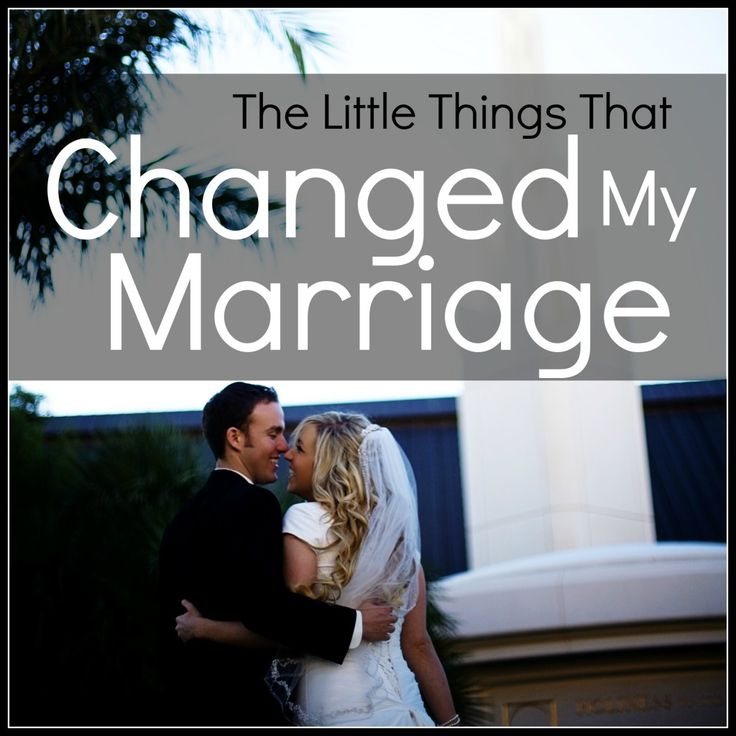 The LITTLE THINGS that can change a marriage! #marriage #husband #wife