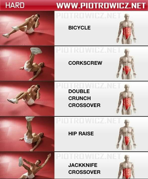 moves that target different ab muscles. Get yourself in the best shape of your life with www.gymra.com/... #fitness #exercise #weightloss #diet #fitspiration #fitspo #health