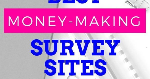 Best paid survey sites. Check out the top online survey sites to make money now!