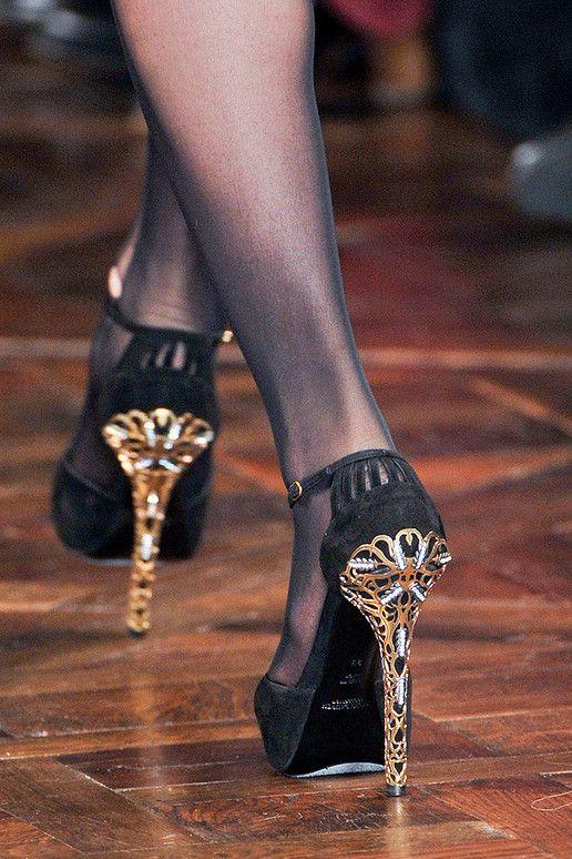 Ralph Lauren RTW FW 2012 shoes detail