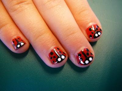 lieveheersbeestjes nagels