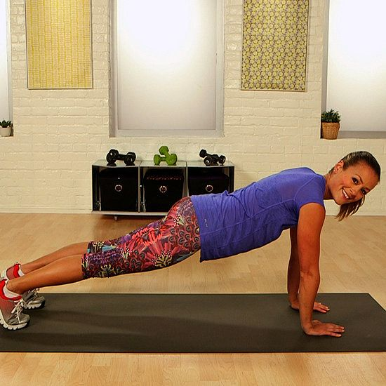 Sculpt Shapely Shoulders With the Push-Up Walk