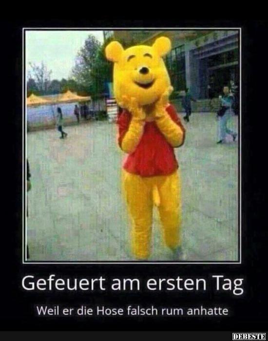 Gefeuert am ersten Tag.. | DEBESTE.de, Lustige Bilder, Sprüche, Witze und Videos