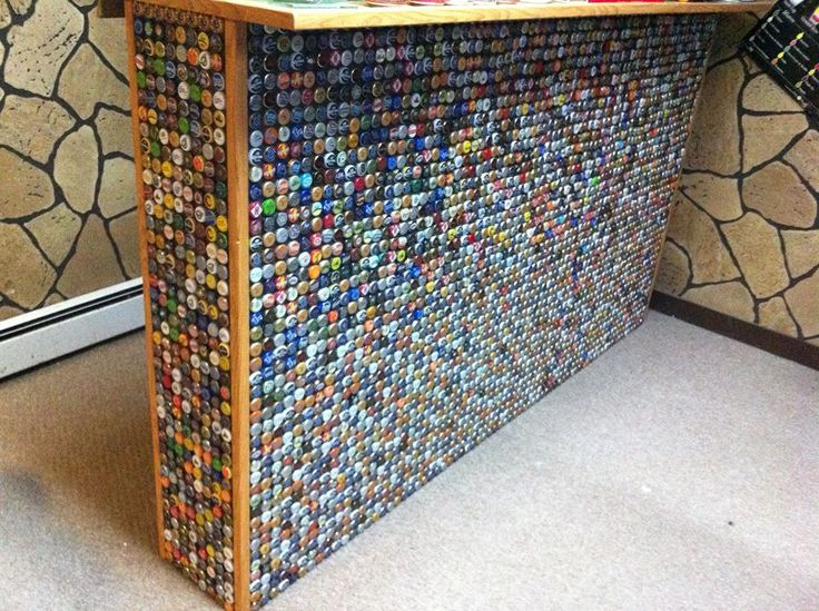 bottle cap furniture. 10 diy beer projects for summer bottle cap furniture c